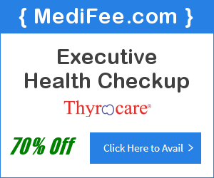 Executive Health Checkup at 70% Discount
