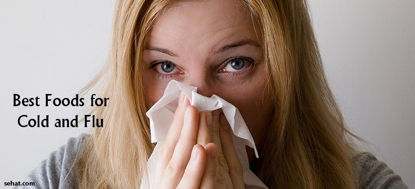10 Feel Good Foods For Cold and Flu