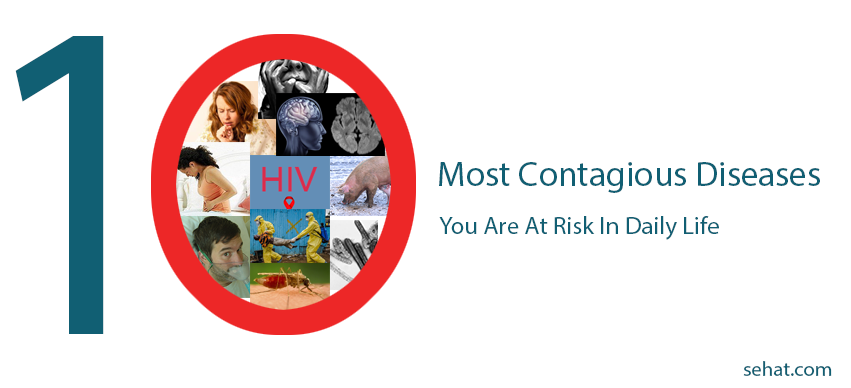 10 Most Contagious Diseases: You Are At Risk In Daily Life