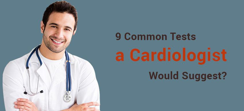 common cardiology tests for heart conditions