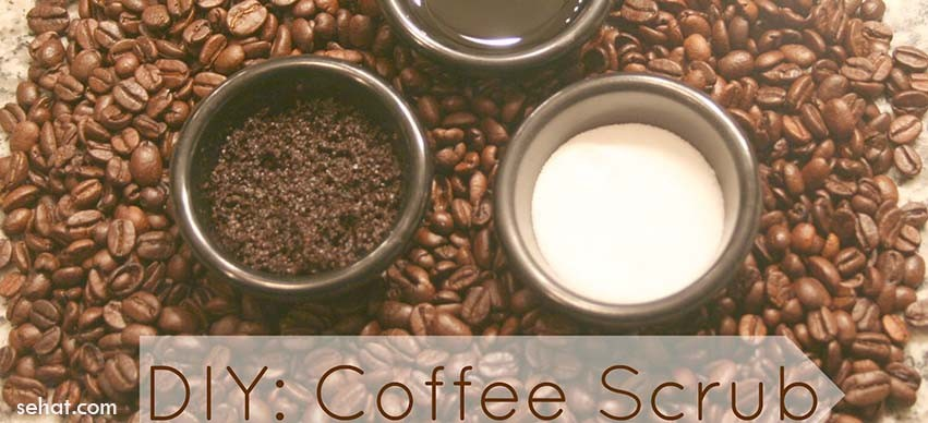 Homemade Coffee Body Scrub For Glowing Skin