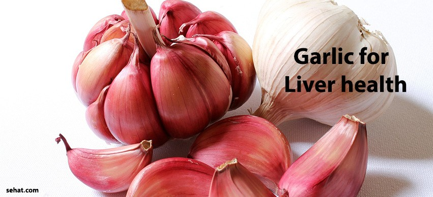 Garlic for liver