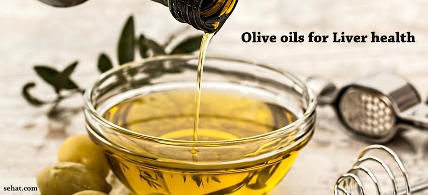 Olive oils for liver