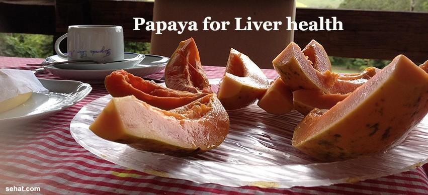 Papaya for liver
