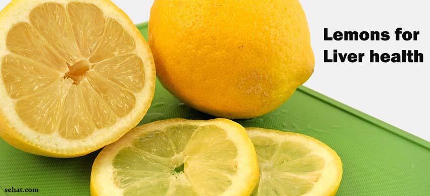Lemons for liver