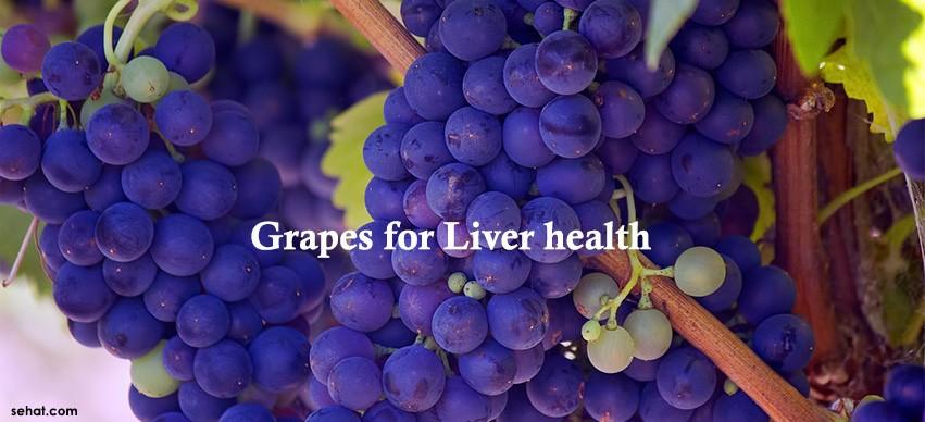 Grapes for liver health