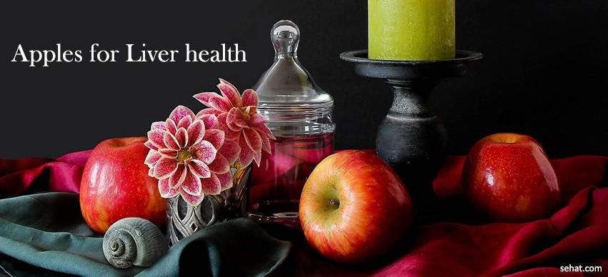 Apples for liver health