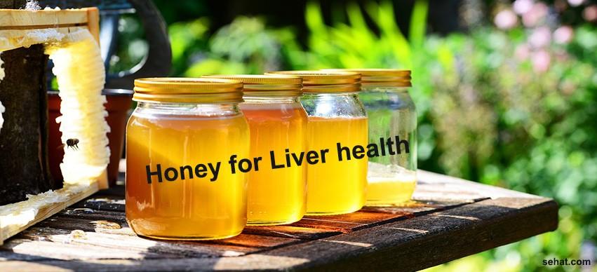 Honey for liver health
