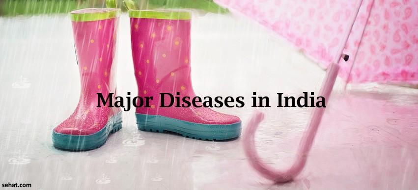 Major Diseases in India