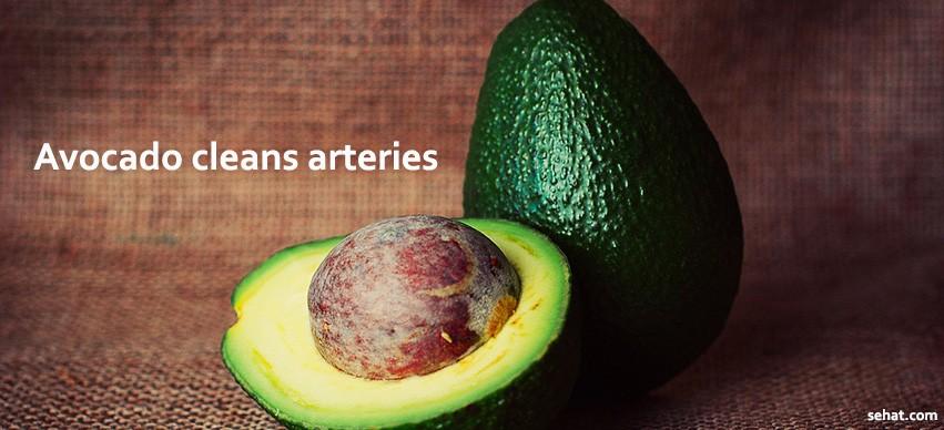 Avocado cleans arteries