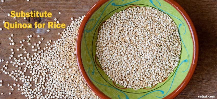Substitute Quinoa for Rice