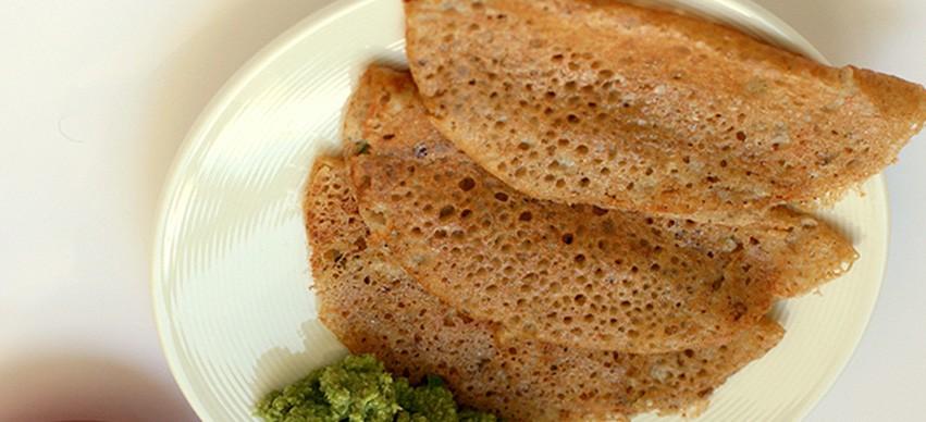 Oats Dosa snack recipe
