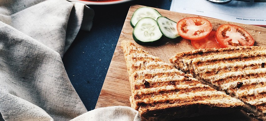 Cucumber Sandwich snack recipe
