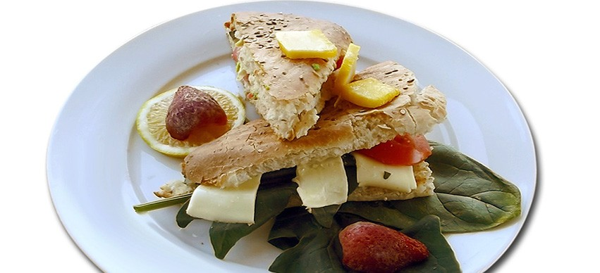 Fruit sandwich snack recipe