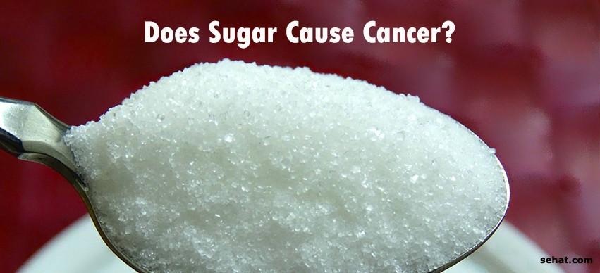 Does sugar cause cancer