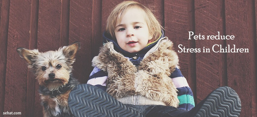 Pets reduce Stress in Children