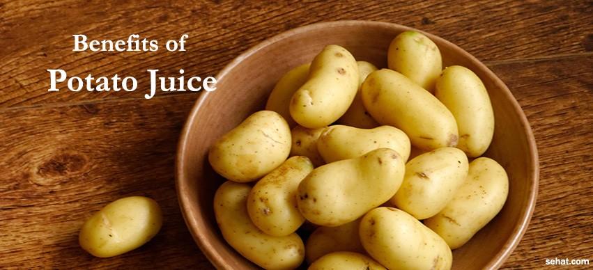 Benefits of Potato Juice