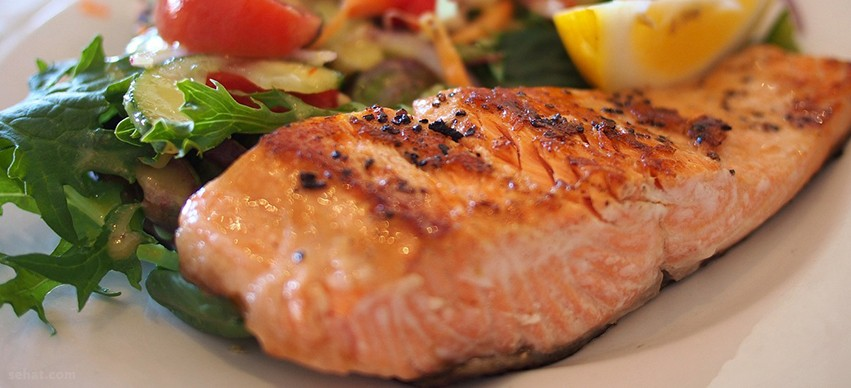 Salmon High in Vitamin B-12