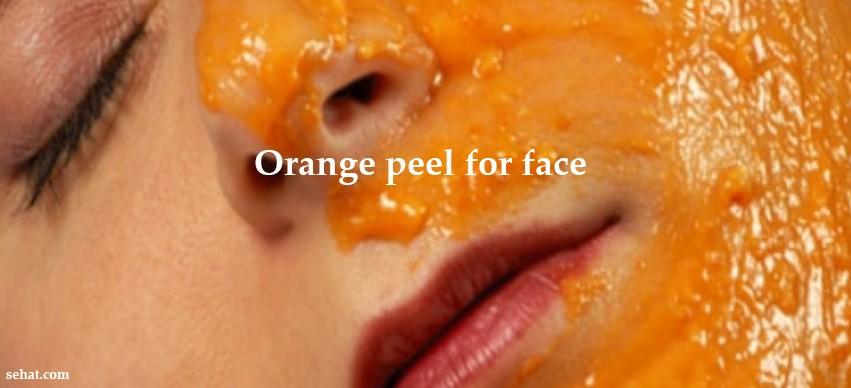 Orange Peel benefits for Skin