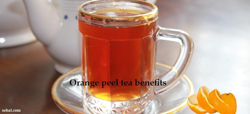 Orange Peel Tea Benefits