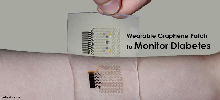 Wearable Graphene Patch to Monitor Diabetes