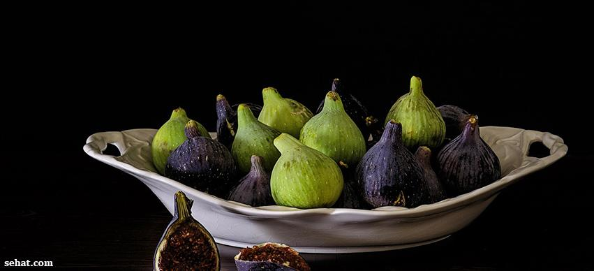 Figs is a source of Calcium