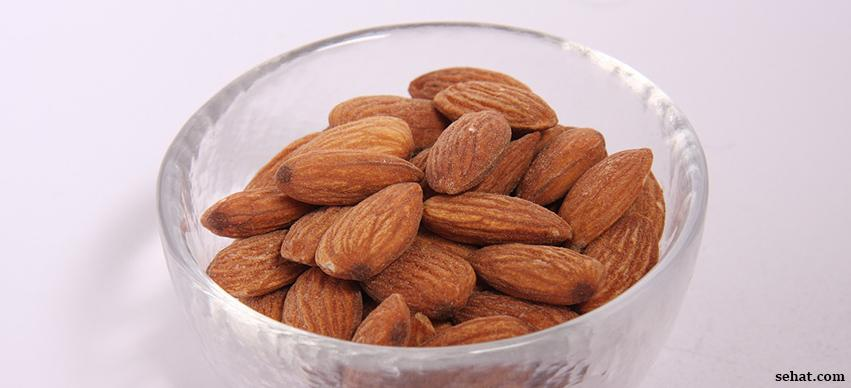 Almonds is a source of Calcium