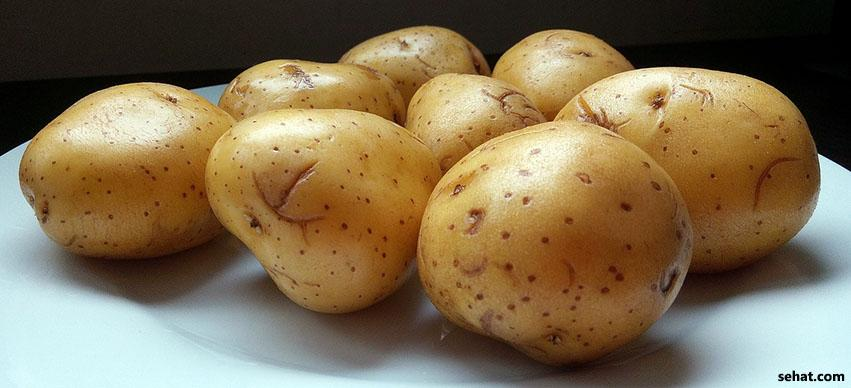 Potato Pulp for Dark Neck
