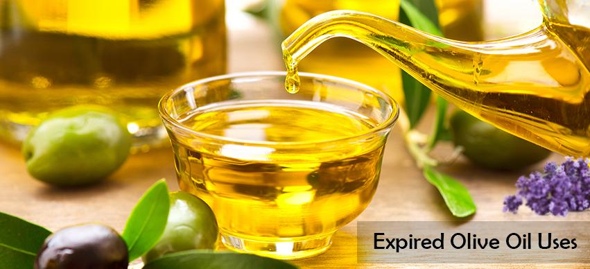 Expired Olive Oil uses
