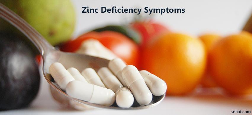 Zinc Deficiency Symptoms