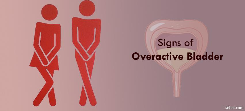 signs of overactive bladder
