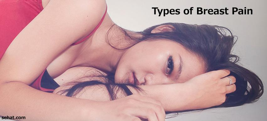 Types of breast pain