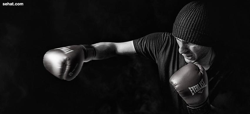 kick-boxing lose muffin top