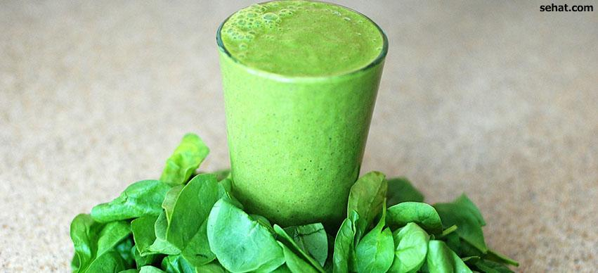 spinach for hair