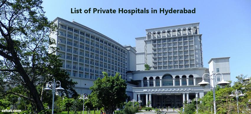 list of private hospitals in Hyderabad