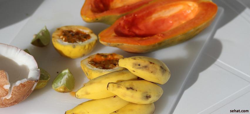 papaya and banana, winter skin care
