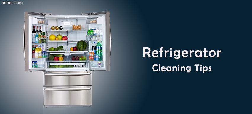 refrigerator clening tips