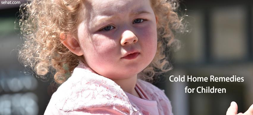 Cold Home Remedies for Children
