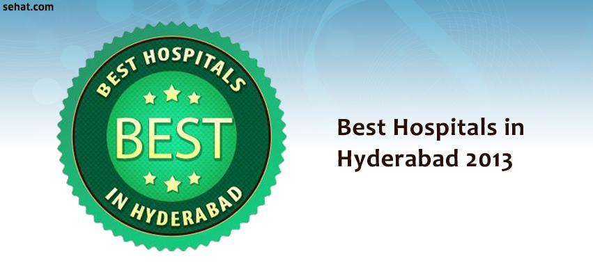 Best Hospitals in Hyderabad 2013