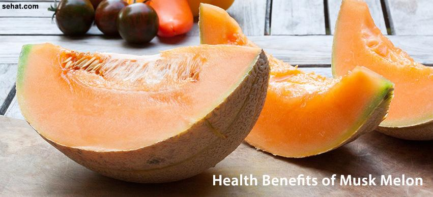 Health Benefits of musk melon