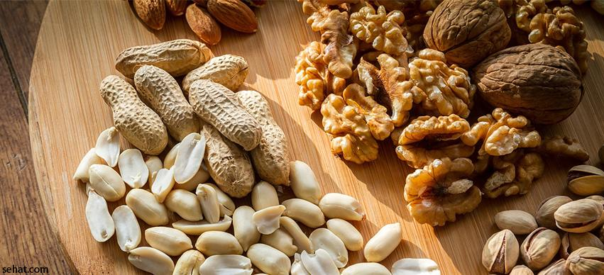 Nuts Protein rich food