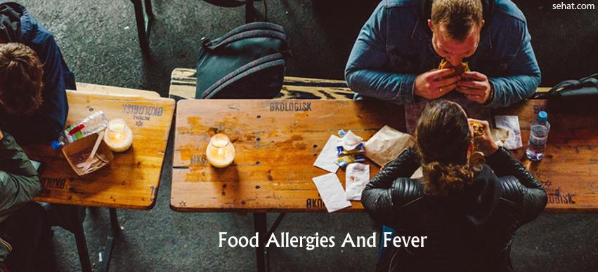 Food Allergy and Fever