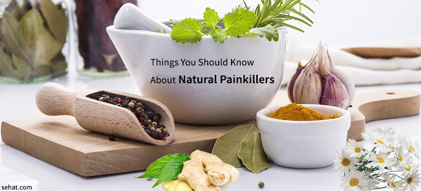 Things You Should Know About Natural Painkillers