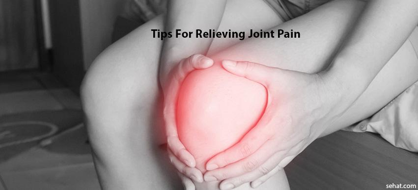 tips for relieving joint pain