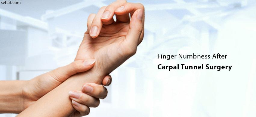 Finger Numbness After Carpal Tunnel Surgery