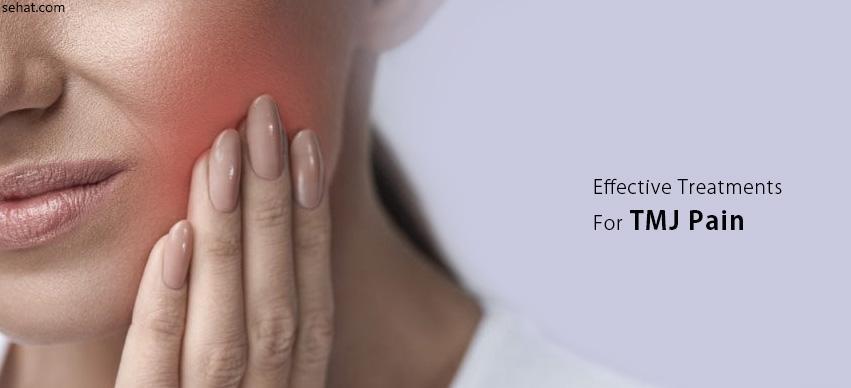 effective treatments for tmj pain