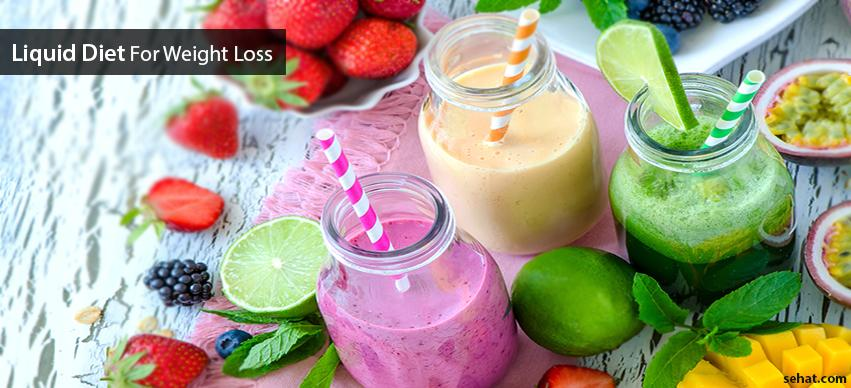 Benefits, Side Effects, Types of Liquid Diets For Weight Loss
