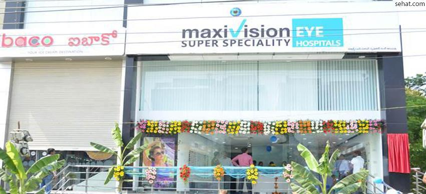 Max Vision Super Speciality Eye Care Hospitals - Top Eye Hospital in Hyderabad