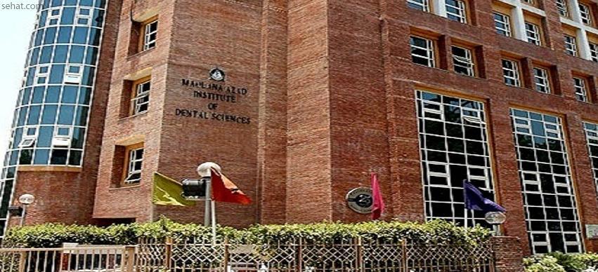 Maulana azad institute of dental sciences - Best Government Dental Hospital in Delhi