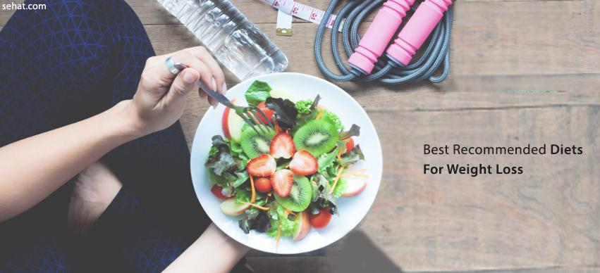 Best recommended diets for weight loss